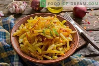 Batatas fritas no forno - quando você quiser se mimar