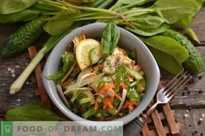 Salada de Frango com Abacate e Pepino