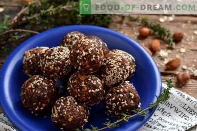 Велики слатки со ореви и гранула