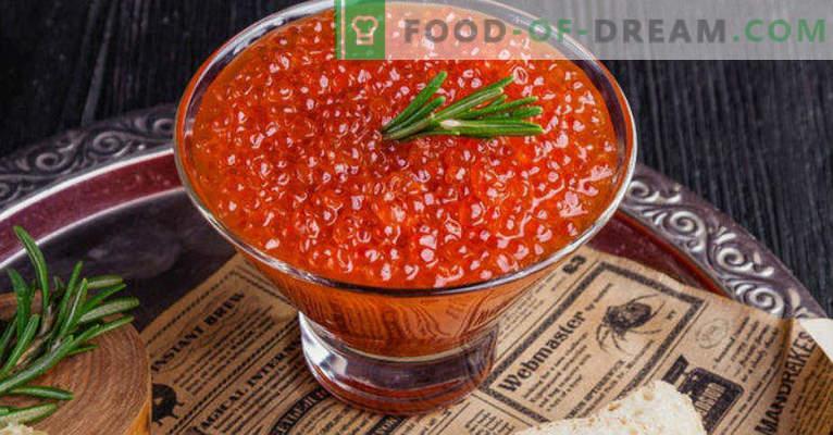 Como conservar o caviar vermelho em casa de forma adequada e saborosa