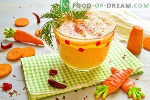 Coquetel de ressaca - batido de legumes com pimenta e grega ...