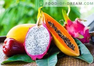 15 tropische vruchten die je zeker