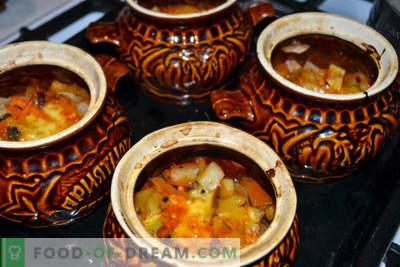 Cepta podos - kartupeļi ar sēnēm un kūpināta desa, garda recepte viesiem