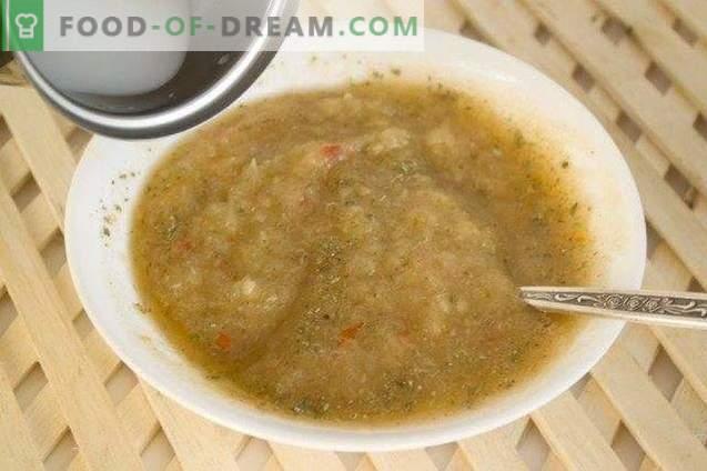 Molho de pimenta tailandesa com cebola e gengibre