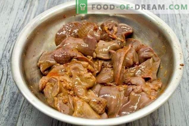 Batata zrazy - rissóis de batata com fígado de galinha