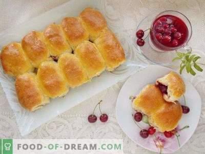 Tortas de cereja