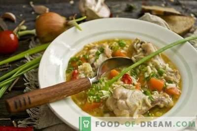 Sopa de Asas de Frango