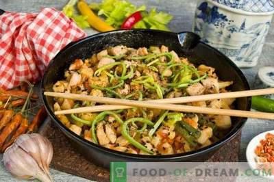 Pui cu legume în stil chinezesc
