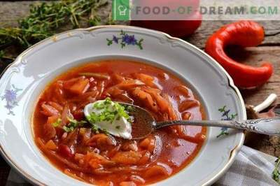 Pickled Cabbage Borscht with Pork