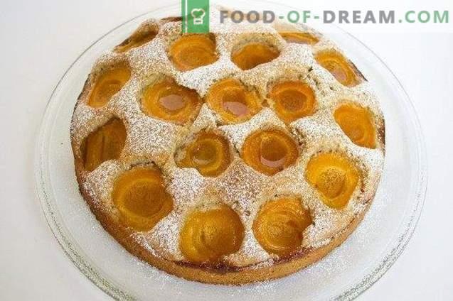 Torta de damasco austríaco