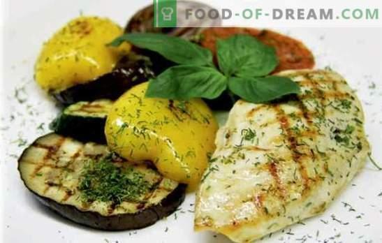Peito de frango suculento com legumes: gostoso! As melhores receitas de peito de frango com legumes, queijo, damascos secos, feijão, azeitonas