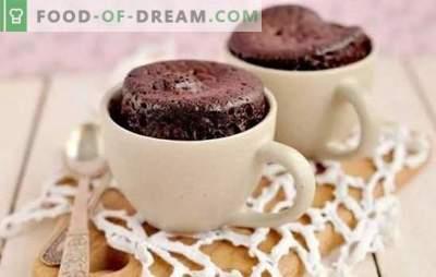 Receitas de cozimento rápido: rápido para preparar! Receitas passo-a-passo para bolos rápidos: biscoitos, muffins, pãezinhos, donuts