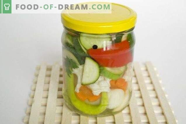 Plăci de legume pentru iarnă
