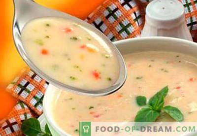 Супи за деца - доказани рецепти. Как правилно и вкусно да готвя супи за деца.