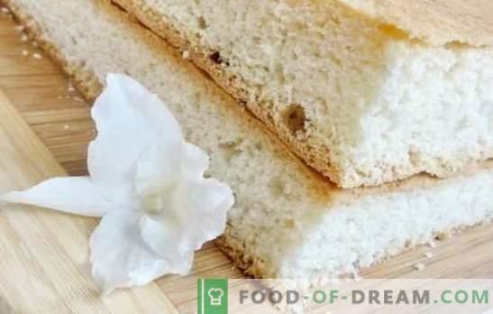 Sua Majestade Biscuit - receitas passo a passo de um magnífico milagre! Prepare um clássico, chiffon ou bolo de chocolate usando receitas passo-a-passo