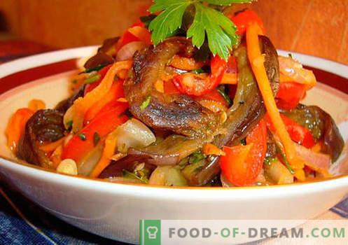 Saladas picantes - uma seleção das melhores receitas. Como corretamente e saboroso cozinhar saladas picantes.