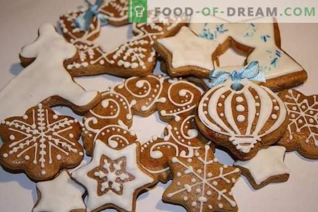 Biscoitos para o Novo 2019: aromas de especiarias e desejos quentes