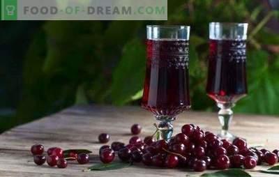 Kersenlikeur thuis - de robijnrode koningin op tafel! Thuis heerlijke kersenlikeur bereiden