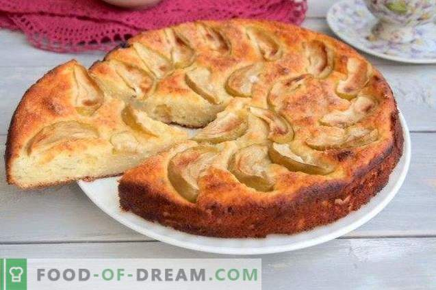 Cheesecake Pie with Apples and Raisins