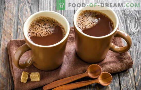 Cozinhando cacau - fazemos nossa casa feliz! Como cozinhar cacau em leite, em pó, com leite condensado, com mel, canela e marshmallows