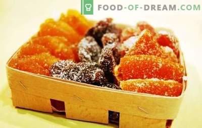 Maçãs cristalizadas em casa - frutas cristalizadas de origem oriental. Maçãs cristalizadas em casa - mais fácil do que nunca!