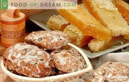 Pain d'épice à la maison - recettes. Biscuits pain d'épice sur kéfir, miel de pain d'épice: comment faire de délicieux pain d'épice à la maison