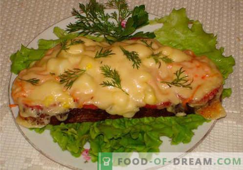 Sanduíches de queijo são as melhores receitas. Como preparar rapidamente e saborosos sanduíches com queijo.