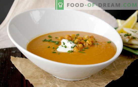 Os benefícios de uma deliciosa sopa de lentilha caseira. Quaresma Lenten Soups - uma seleção de receitas sem carne e caldos