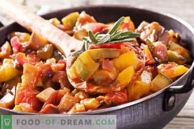 Gemüseeintopf mit Fleisch - die besten Rezepte. Wie man Gemüse-Eintopf mit Fleisch richtig und lecker kocht.