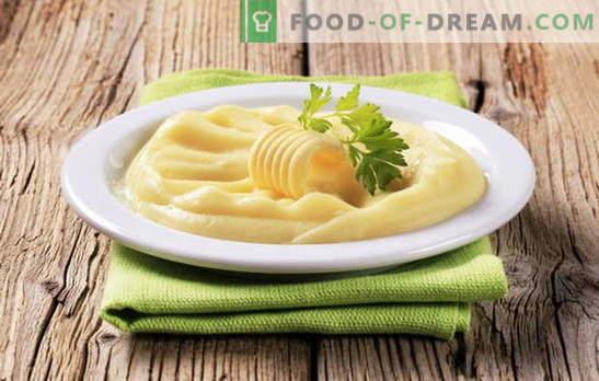 Purê de ovos é outra maneira de fazer um acompanhamento popular. Purê de batata com ovo, leite e ovo, manteiga e ovo