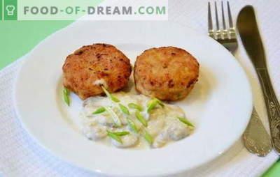 Como preparar rissóis de carne picada? Compartilhamos receitas para costeletas de frango e não apenas ...