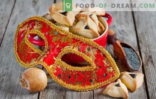 """Uszy Amana to przepis na żydowskie święto. Gotuje """"Uszy Amany"""": przepisy trójkątne ciasteczka wypełnione owocami, chałwą, orzechami"""