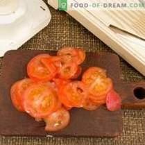 Salada para shashlik - preparação de piquenique caseiro
