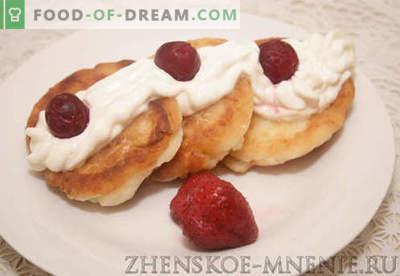 Cheesecakes de requeijão - receita com fotos e descrição passo-a-passo