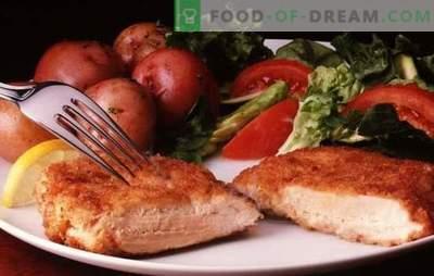 Costeletas de peru: prato de carne tenro e saudável. Uma seleção de grandes receitas de costeletas de peru todos os dias