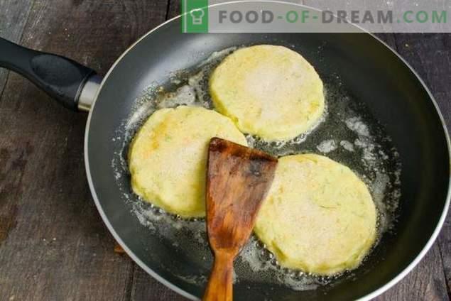 Costeletas em tortilhas de batata - para surpreender os convidados