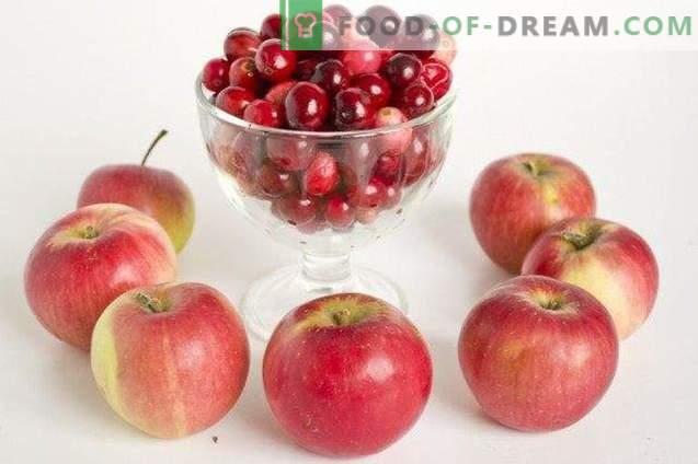 Strudel vienense com cranberries