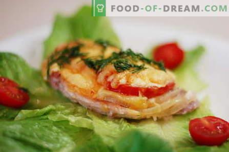Frango francês é a melhor maneira de cozinhar. Como cozinhar frango em francês.