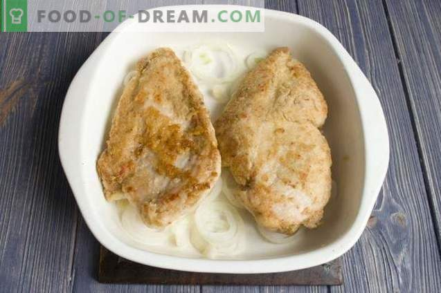 Heerlijke kipfilet met kaas in de oven