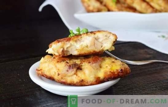 Costeletas de peito de frango com maionese - simples, rápido e saboroso! Receitas de costeletas de peito de frango macias e suculentas com maionese