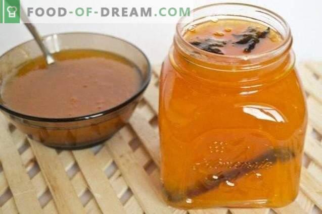 Geléia de abóbora com laranjas