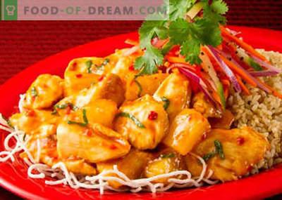 Koreanisches Huhn - die besten Rezepte. Wie man koreanisches Huhn richtig und lecker kocht.