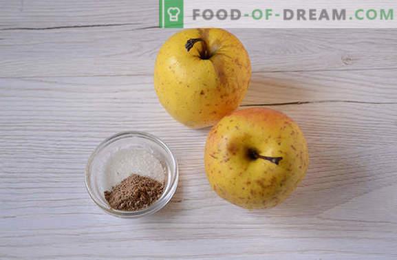 Mele al forno con zucchero - un piatto utile e semplice per dessert. Come cuocere le mele nel forno con lo zucchero: la ricetta dettagliata dell'autore con le foto