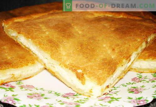 Khachapuri - as melhores receitas. Como cozinhar corretamente e saboroso khachapuri.