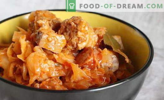 Repolho solyanka - as melhores receitas. Como corretamente e saboroso cozinhar sopa de repolho.