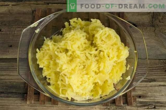 Torta inglesa com batata e carne