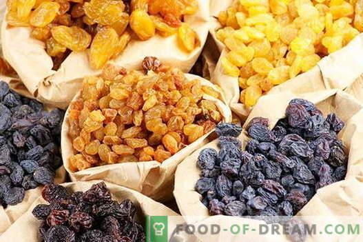 Compota de uva - as melhores receitas. Como a compota adequada e saborosa feita de passas.
