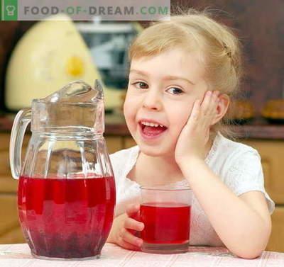 Compota para uma criança - as melhores receitas. Como apropriadamente e saborosa compota para a criança.