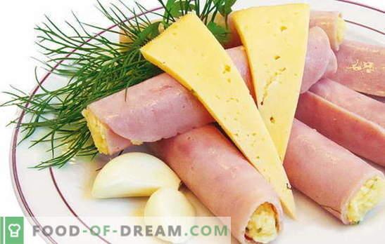 Rolls com presunto, queijo e alho no café da manhã? Receitas rola com presunto, queijo e alho: liberte a sua imaginação!