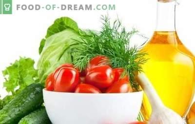 Salada de repolho e tomate para o inverno - um boleto popular! Oito receitas originais de salada de repolho e tomate para o inverno